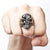 New Rock Skull Ring