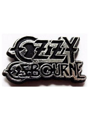 80's Metal Ozzy Ozbourne Badge