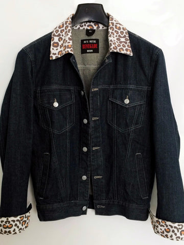 80's Metal 'Renegade' Denim Jacket