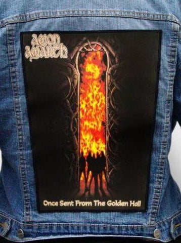 Amon Amarth - Once Sent From The Golden Hall Metalworks Back Patch