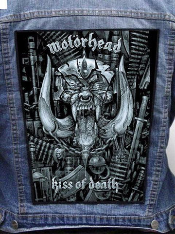 Motorhead  - Kiss Of Death Metalworks Back Patch