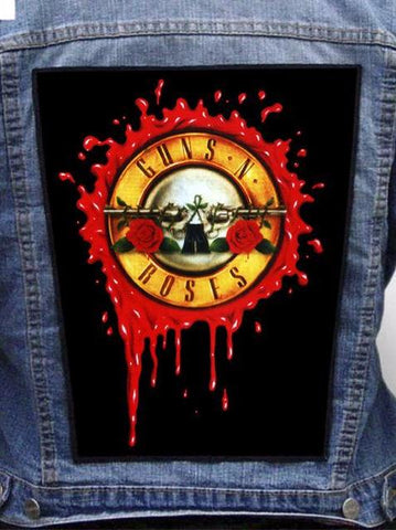 Guns N' Roses - Not In This Lifetime Metalworks Back Patch