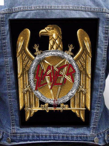 Slayer - Golden Eagle Metalworks Back Patch