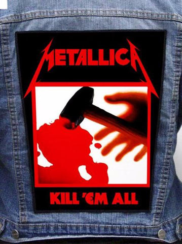 Metallica - Kill 'Em All Metalworks Back Patch
