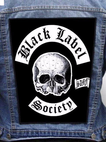 Black Label Society  - Brewtality Metalworks Back Patch