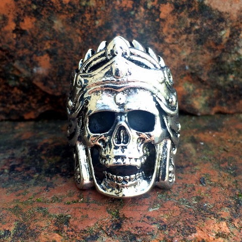 80's Metal Shiva The Destroyer Ring