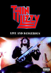 Thin Lizzy Live And Dangerous Gig DVD