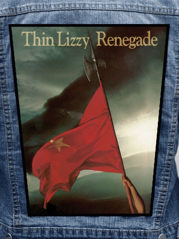 Thin Lizzy - Renegade Metalworks Back Patch