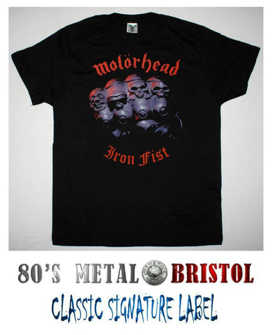 Motorhead - Iron Fist T Shirt
