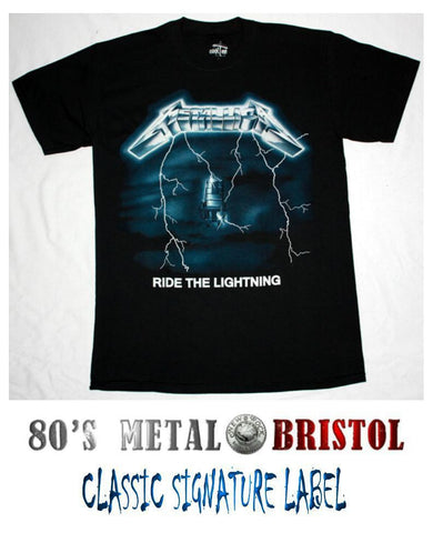 Metallica - Ride The Lightning T Shirt