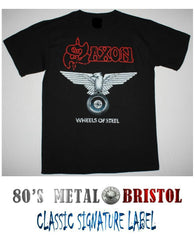 Saxon - Wheels Of Steel T Shirt