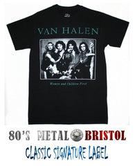 Van Halen - Women And Children First T Shirt