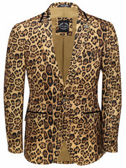 80's Glam Leopard Jacket