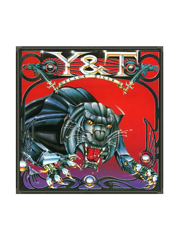 Y&T - Black Tiger Metalworks Patch