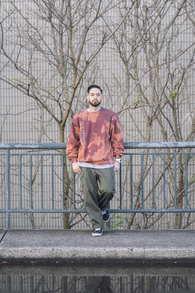 Sokudo Bleach Sweater (Maroon)