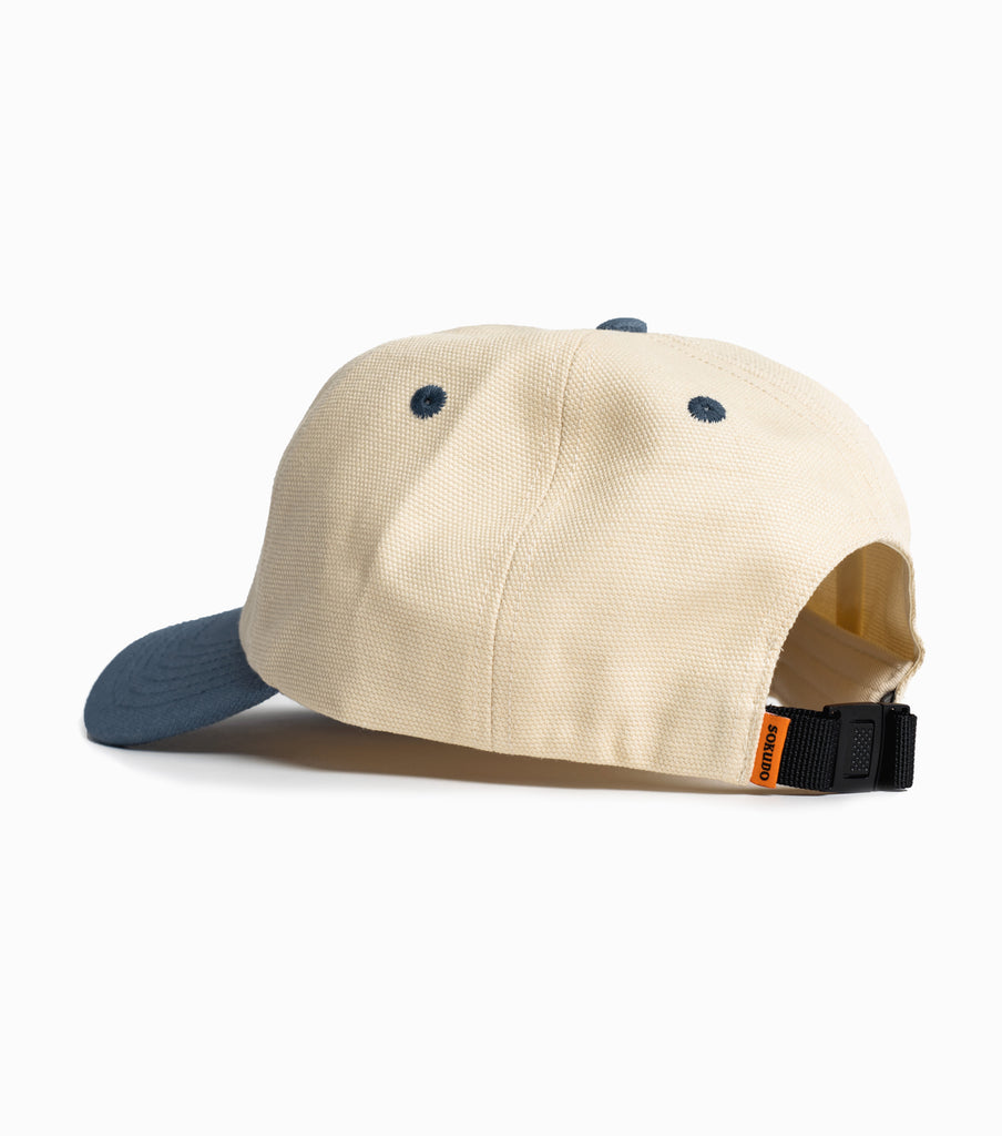 Sokudo Arc Cap - Cream / Blue