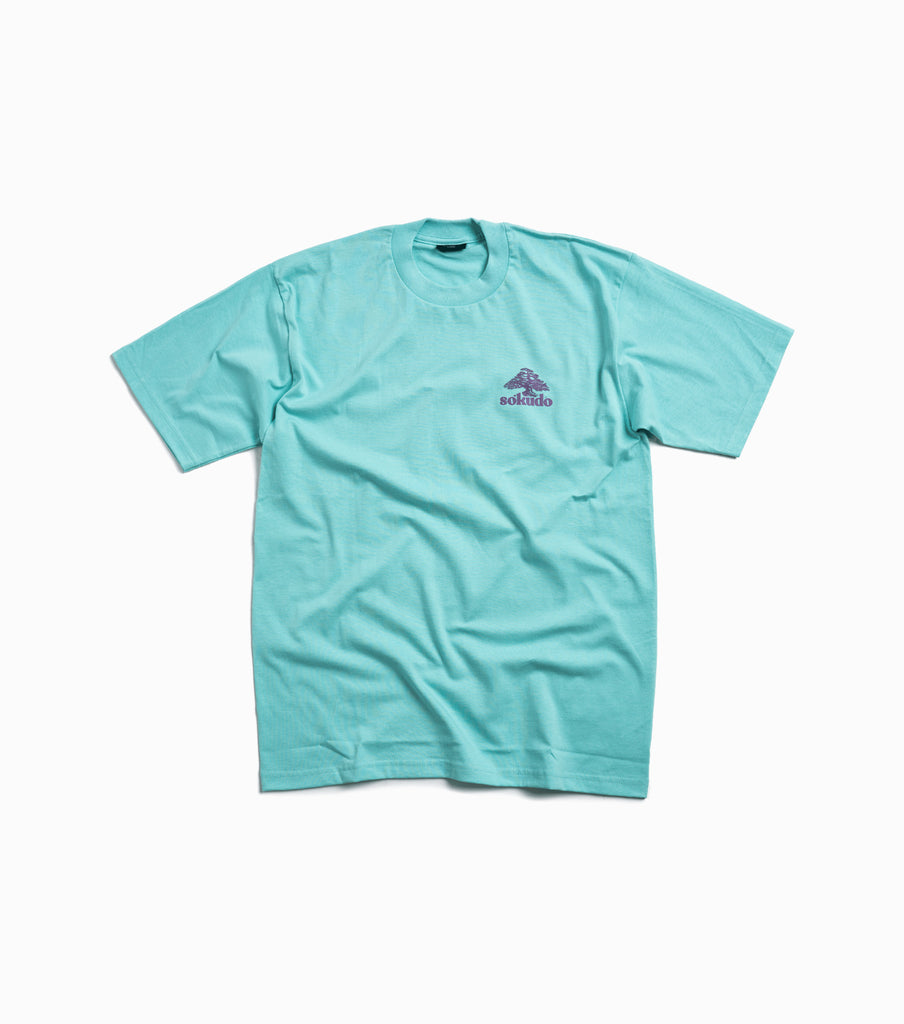 Sokudo Bonsai T-shirt - Sea Foam
