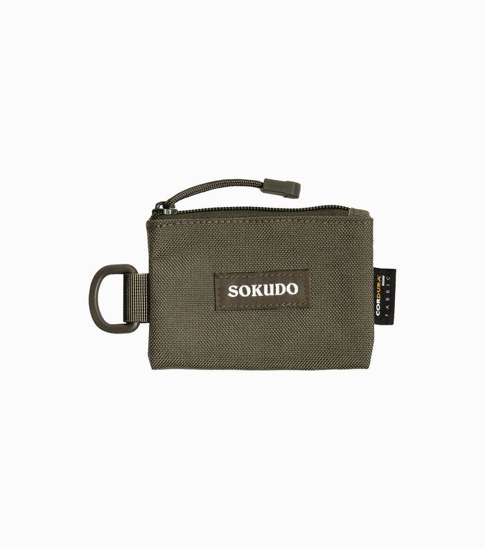 Sokudo Coin Pouch - Olive Drab