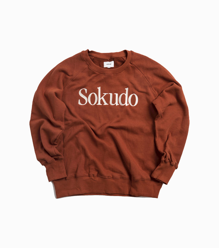 Sokudo Garamond Sweater - Terracotta