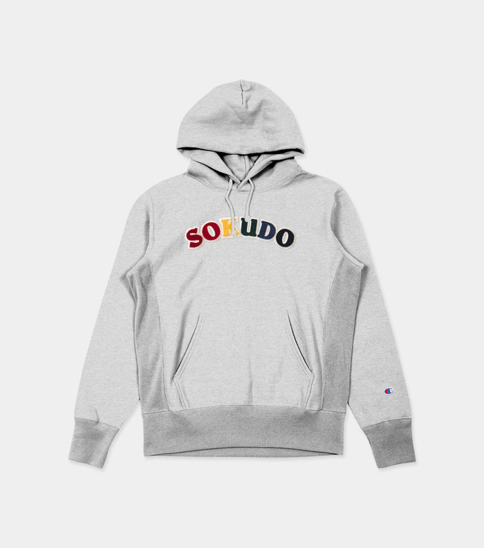 Sokudo Arc Hooded Sweater (Silver Gray)