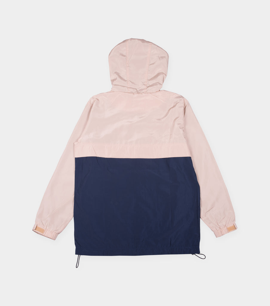 Windbreaker Jacket (Beige / Navy)