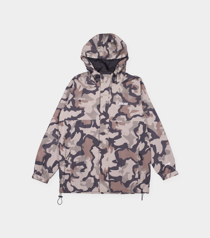 Windbreaker Jacket (Green Camo)