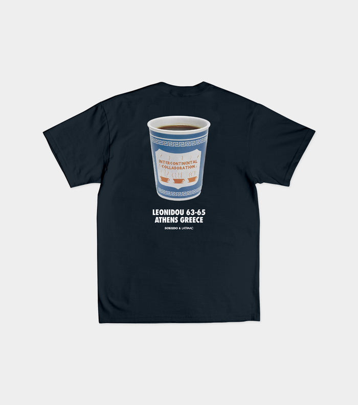 Sokudo x Latraac Intercontinental Collaboration tshirt (Navy)