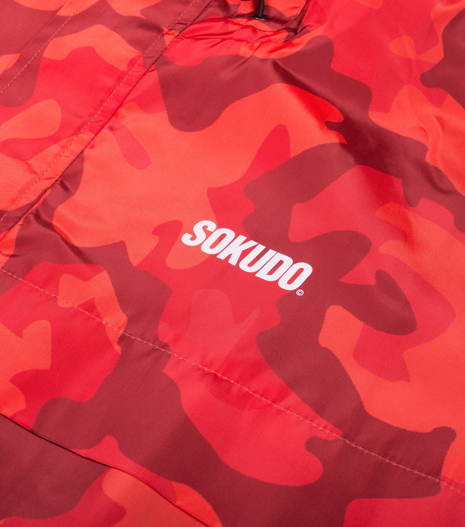 Windbreaker Jacket (Orange Camo)