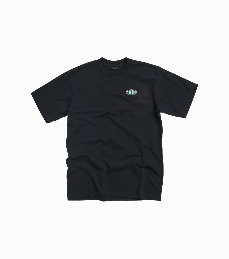 Sokudo Oval T-shirt - Black