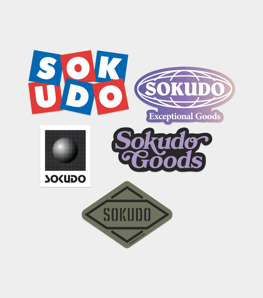 Sokudo sticker pack