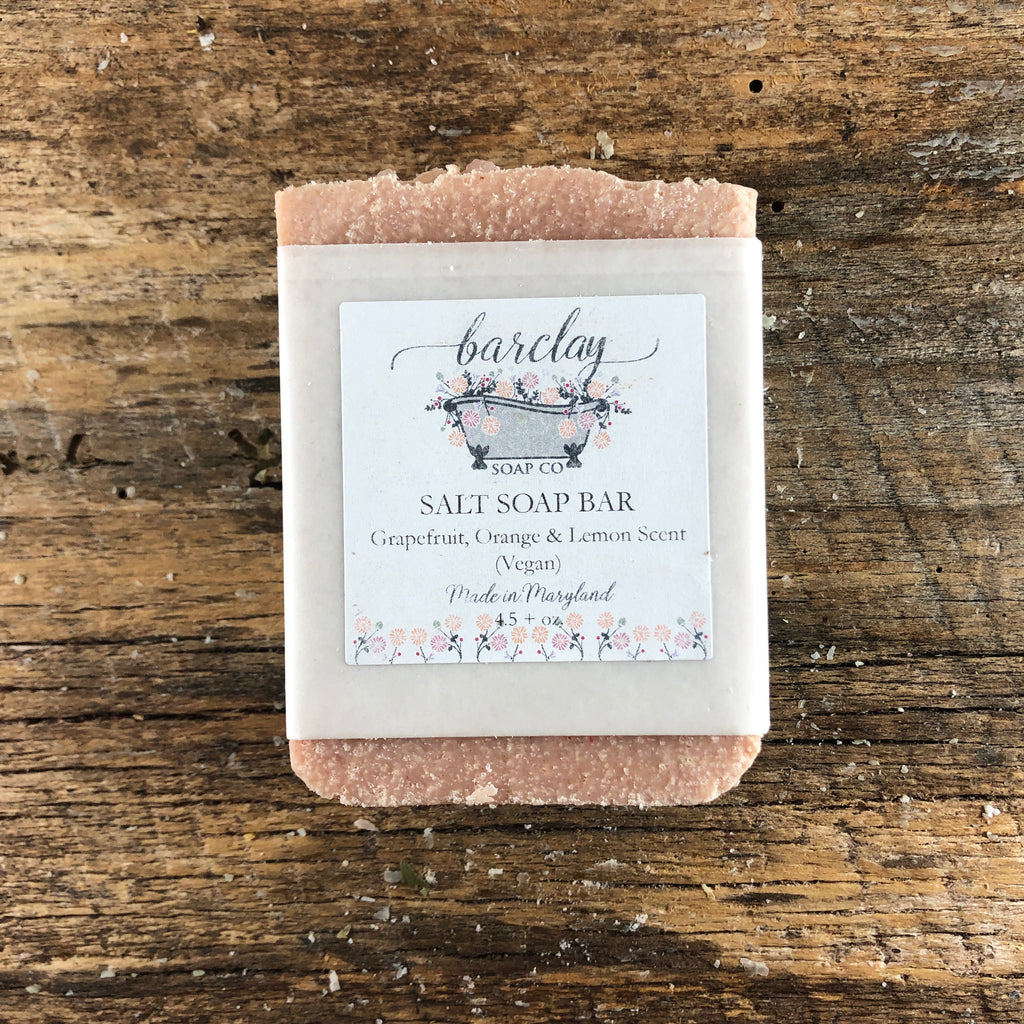 Grapefruit Sunrise Salt Soap