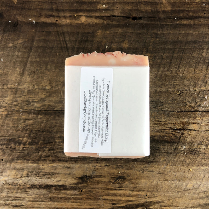 Lemon Bergamot Peppermint Soap
