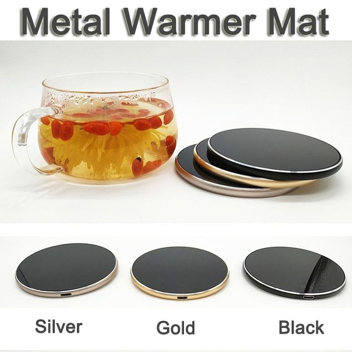 Ultra thin Metal USB Warmer Heater
