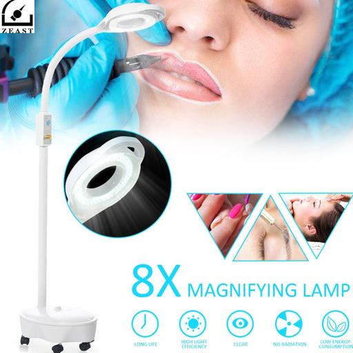 LED Magnifying Floor Stand Lamp