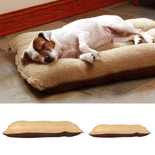 Lamb Fleece Dog Bed Washable