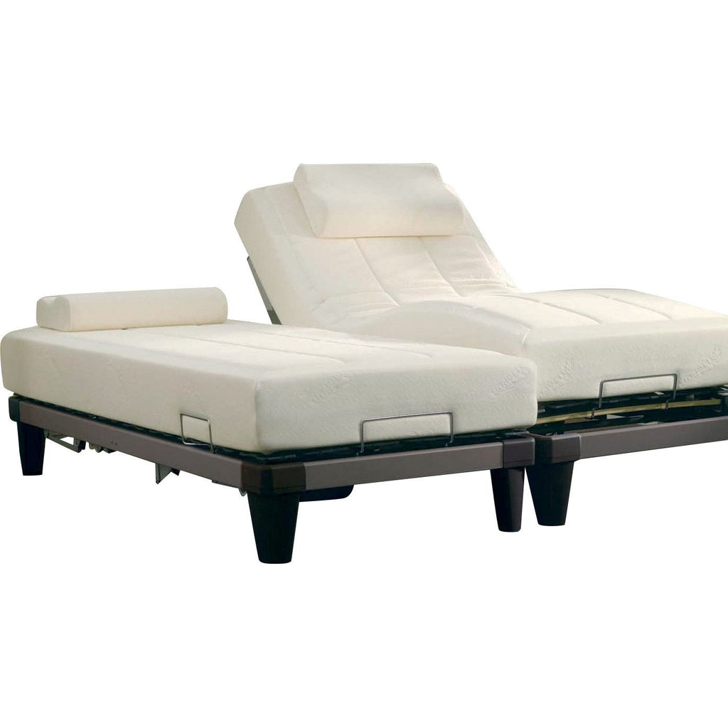 Tempur Bed Base with Legs Flex 2000 Motor Brown - large - 2