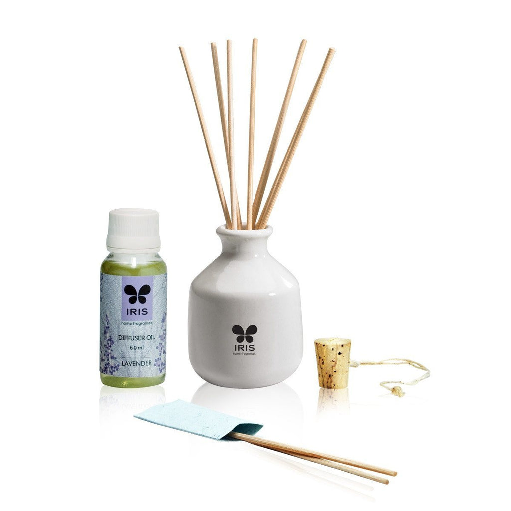 Iris Lavender Reed Diffuser 101 - large - 3
