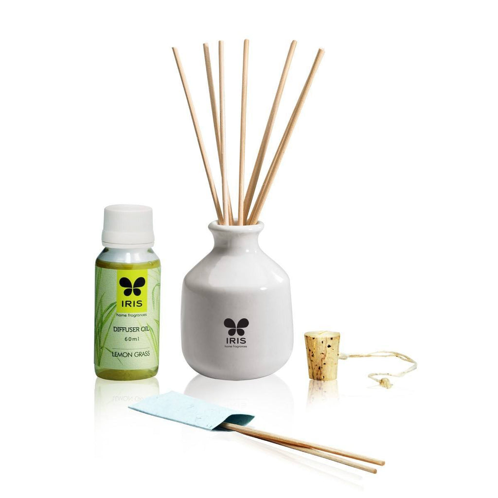 Iris Lemongrass Reed Diffuser 101 - large - 3