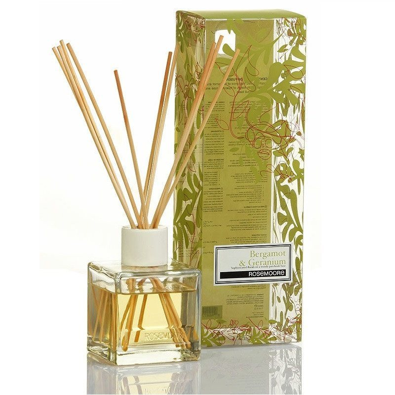 Rosemoore Bergamot and Geranium Reed Diffuser - large - 1