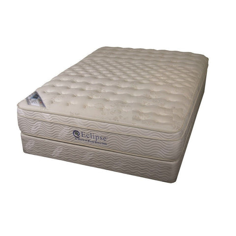 Memory Foam Box Top Spring Mattress Crown - Eclipse - 9