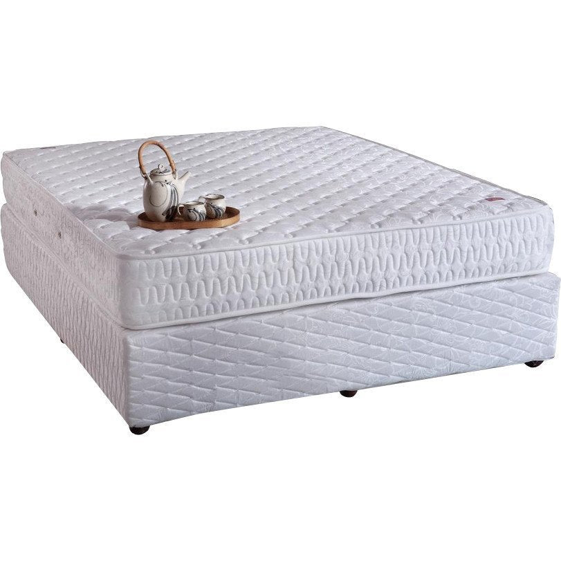 buy box spring bed base plain springwel online in india best prices free shipping. Black Bedroom Furniture Sets. Home Design Ideas