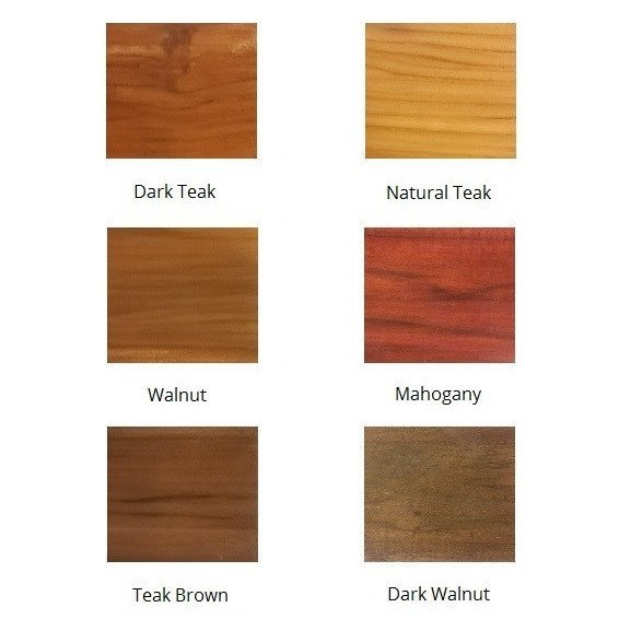 Buy teak wood bed base burnt oak online in india best