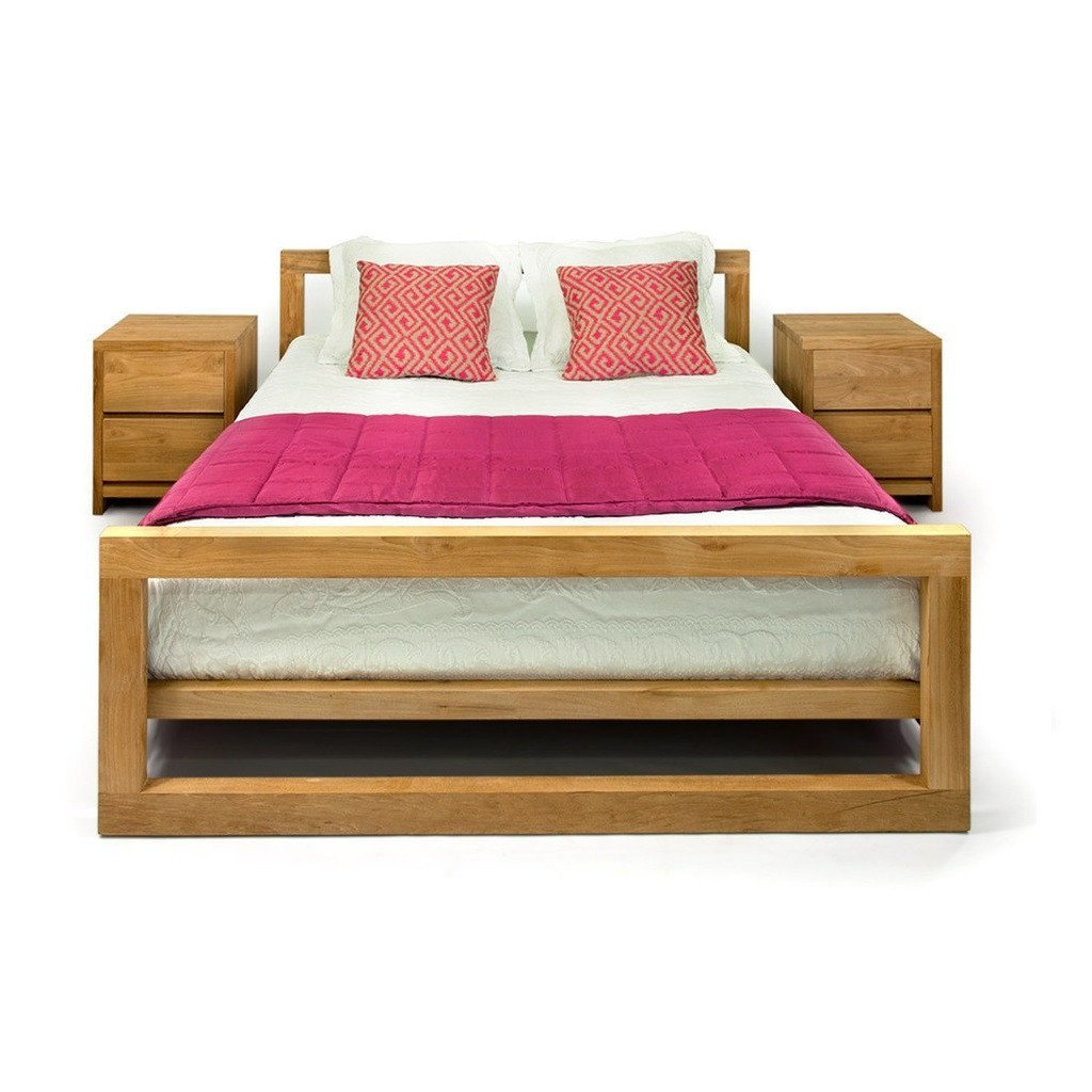 Buy Teak Wood Bedroom Set Notting Hill Online In India