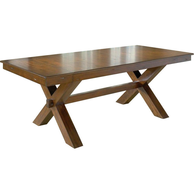 Solid Teak Wood Dining Set - Dollis Hill - large - 3