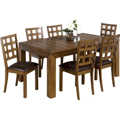 Teak Wood Dining Set - Bayswater - 1