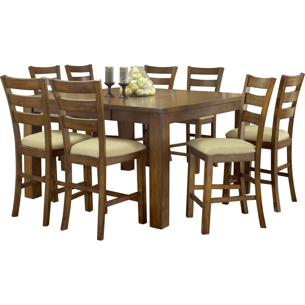 Teak Wood Dining Set - Colliers Wood - large - 1