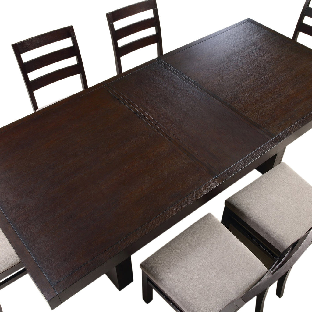 Teak Wood Dining Table - Hainault - large - 3