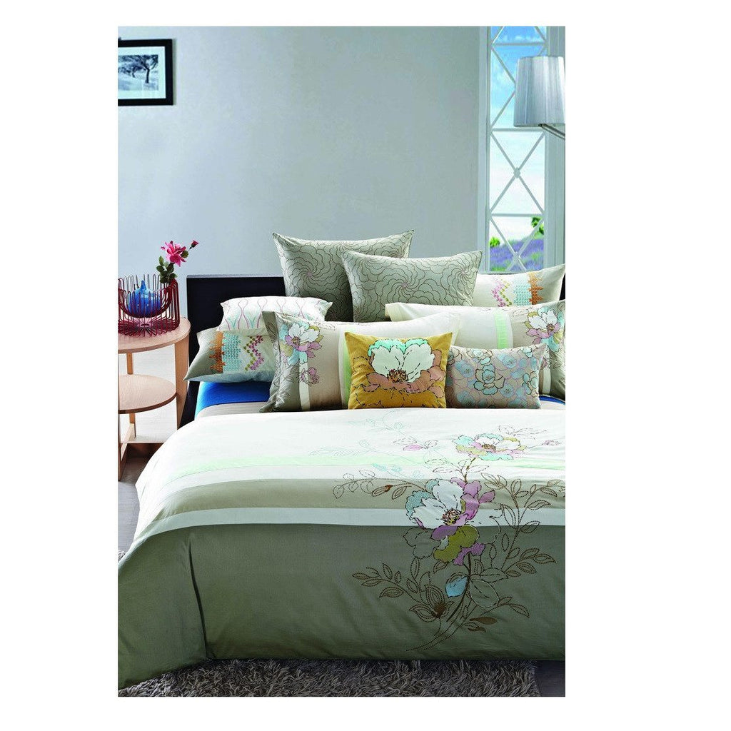 Duvet Cover Cream Art Collection Nirvana - large - 1