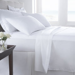 Egyptian Cotton Duvet Cover White - 300 TC