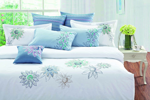Luxury Duvet Cover White Art Collection - 1